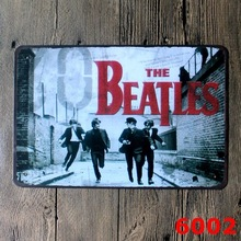 The Beatles Decor CAFE BAR Tavern Garage Pub Tin Sign Vintage Metal Painting Home Decor Art Poster 20*30cm Free Shipping(China (Mainland))