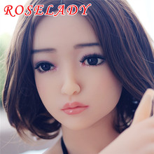 NEW 158cm Top quality oral vagina anal sex doll full silicone, japanese lifelike love doll, silicone adult sex dolls with tongue