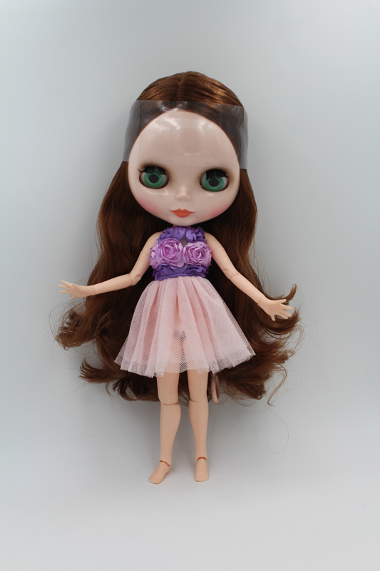 Toys & Hobbies Free Shipping Top Discount Transparent Face Diy Nude Blyth Doll Item No 193t Doll Limited Gift Special Price Cheap Offer Toy