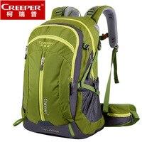 Creeper frete grátis profissional à prova dwaterproof água náilon mochila de escalada respirável acampamento caminhadas mochila montanhismo saco 50l|bag 50l|hiking bag|climbing bag -
