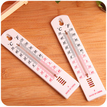 Wall Hang Thermometer New Plastic White Outdoor Garden House Garage Indoor  Office Room Hung Logger 1 pcs