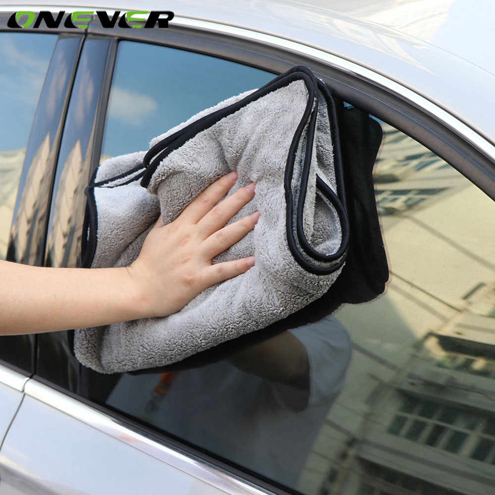 Super Absorbency Car Cleaning Cloth 100X40CM Premium Microfiber Auto Towel Ultra Size Towel One-Time Drying The Whole Vehicles