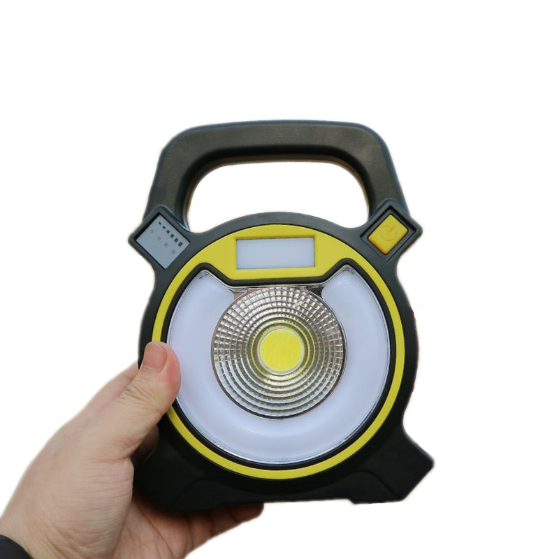 15W COB LED Camping Light Portable Lantern Led 18650 Rechargeable Powerbank Outdoor Work Lamp Tent Light Waterproof Floodlight