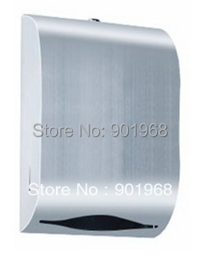 Hot sell hotel public school bar club WC toilet stainless steel paper box-paper holder-paper dispenser
