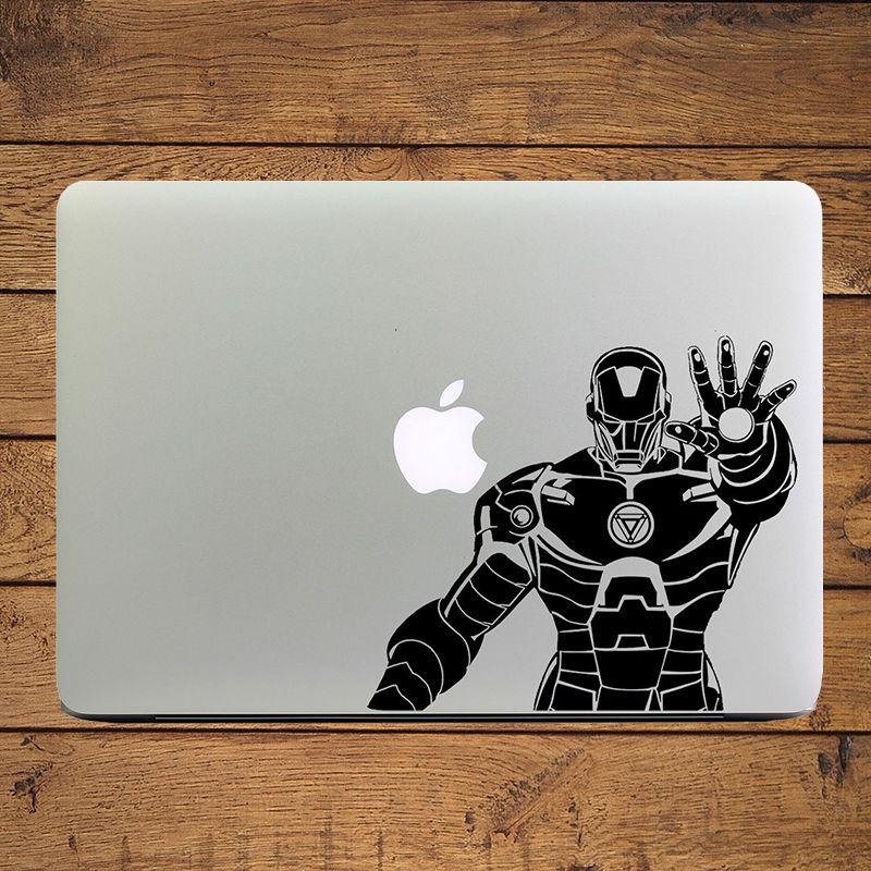 Cool Iron Man Vinyl Laptop Sticker for Apple MacBook Decal 11