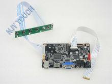 VGA HDMI LCD Controller Board HDMI VGA eDP for B140XTN03.2 B140XTN03.3 B140XTN03.4 14 inch eDP 30 pins 1 Lane 1366×768 WLED LCD