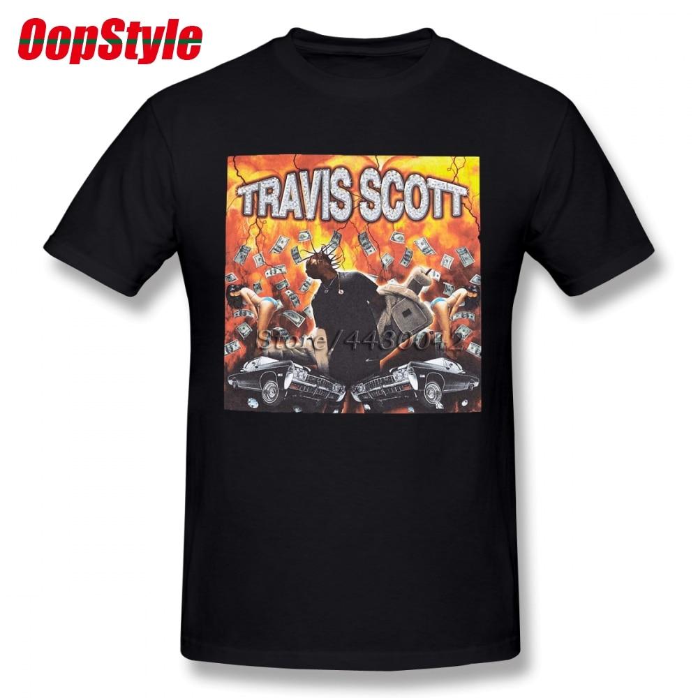 367b6d53fdfeb VINTAGE Travis Scott Explosion Rock Punk T-shirt For Men Summer Short  Sleeve Cotton Plus Size Custom Team Tee 4XL 5XL 6XL