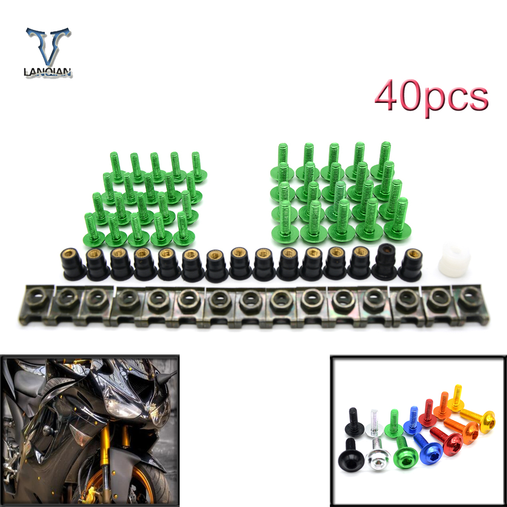 Universal Motorcycle Sports Car Rectification Bolts and Windshield Screw for BMW K1200S K 1200 S S1000r S1000RR F800GS 2013