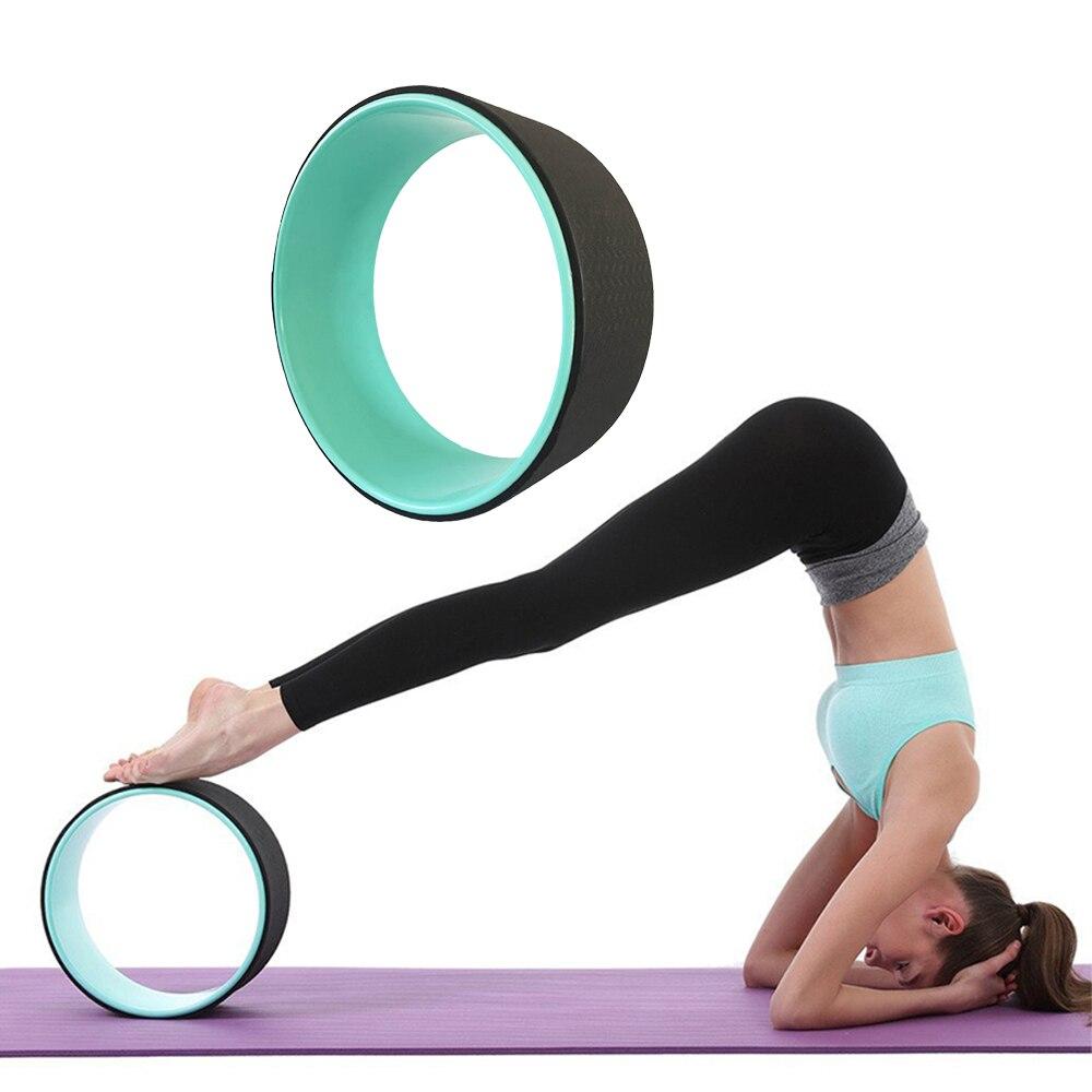 Unisex 33*33*13 Pilates Magic Circle Yoga Circle TPE Yoga Wheel Ring Slimming Gym Yoga Fitness Roller Home Bodybuilding 3 Colors цена