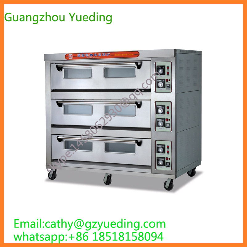 Commercial Automatic Bakery Electric Bread Baking Oven/bakery machinery for bread making/bakery rotary rack ovens for sale цена 2017