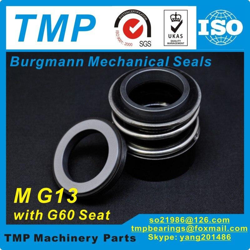 MG13-50 (MG13/50-G60) Burgmann joints mécaniques pour pompes à eau avec siège fixe G60-(matériau: SIC/SIC/VITON)