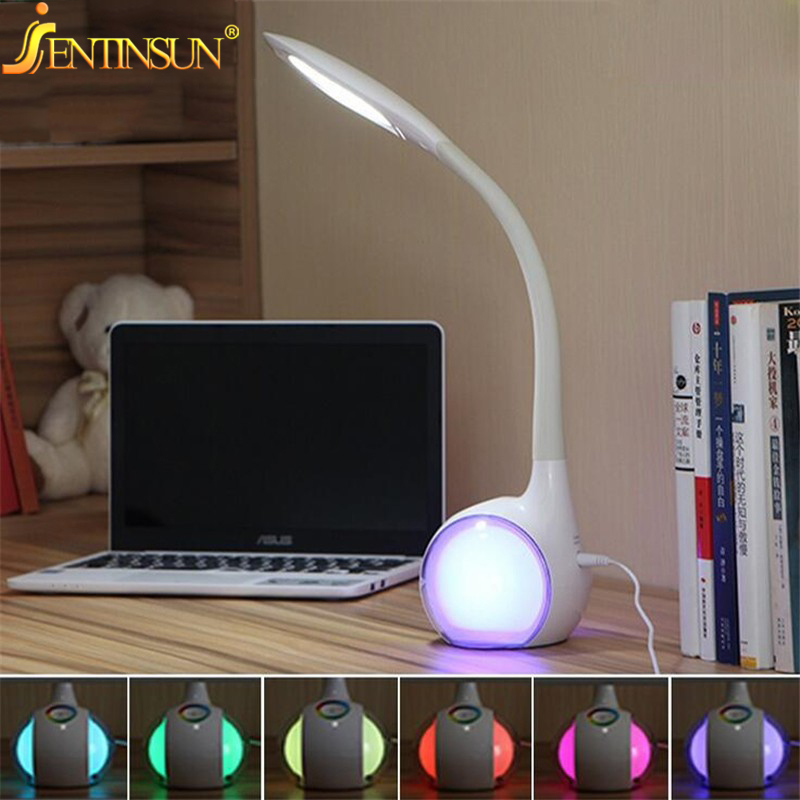 Creative LED Desk Table Lamp Emergency Nightlight Eye Protection Reading Light for Baby Children Bedroom Study Office Bedside creative flip book page led nightlight