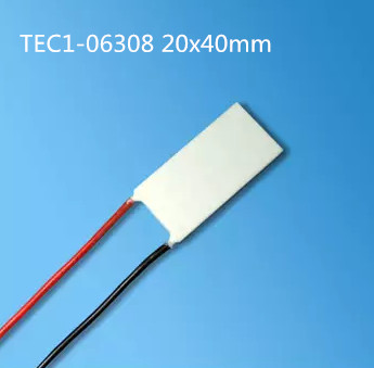 Semiconductor thermoelectric cooler TEC1-06308 20*40MM Medical cosmetology equipment beauty equipment cooler Peltier kitavawd31eccox70427 value kit avanti tabletop thermoelectric water cooler avawd31ec and glad forceflex tall kitchen drawstring bags cox70427