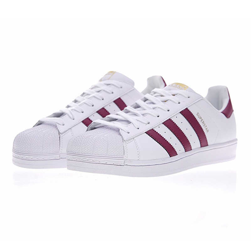 newest fd518 f7e40 ... Adidas SUPERSTAR Gold Label, Women s Skateboarding Shoes , Color Red,  Non-Slip Lightweight ...
