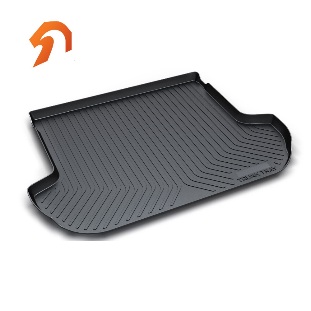 Rubber Rear Trunk Cover Cargo Liner Trunk Tray Floor Mat For SUBARU Legacy 2014 2015 2016 2017 Car Floor Trunk Carpet Liner Mats 3d car styling custom fit car trunk mat all weather tray carpet cargo liner for honda odyssey 2015 2016 rear area waterproof