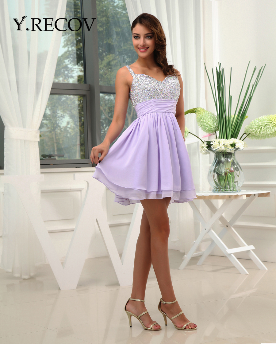 Popular Short Formal Dresses for Juniors with Straps-Buy Cheap ...