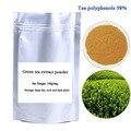 O envio gratuito de 100 g/saco de Ervas Em Pó Extrato de polifenóis do Chá 98% + 45% EGCG extrato de chá verde em pó para se manter em forma