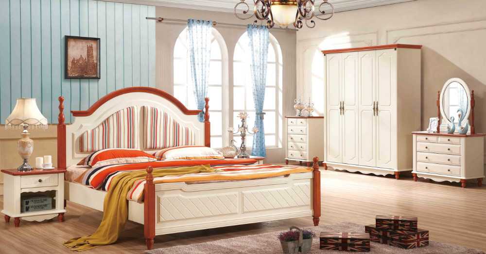 mediterranean style bedroom furniture mediterranean style. Aliexpresscom  Buy 1 bed 2 bedsidedresser mirrormattress