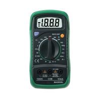 HOT MASTECH MAS830L Mini Handheld LCD Display Digital Multimeter DC Current Tester Backlight Data Hold Continuity