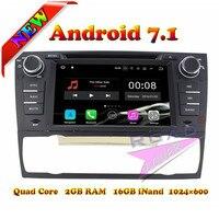 TOPNAVI 2G+16GB Android 7.1 Car DVD Player For 3 Series E90/E91/E92/E93 2006 2011 For BMW Auto GPS Navigation Tracker Radio MP3