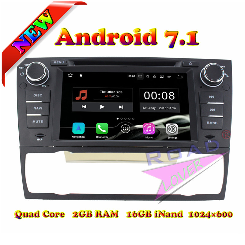 TOPNAVI 2G+16GB Android 7.1 Car DVD Player For 3 Series <font><b>E90</b></font>/E91/E92/E93 2006-2011 For <font><b>BMW</b></font> Auto GPS Navigation Tracker Radio MP3
