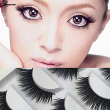 5 Pairs/Set Luxurious 3D False Eyelashes Cross Natural Long Eye Lashes Makeup free shipping M02783