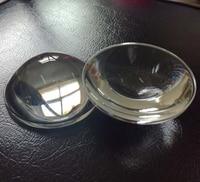 2PCS 104mm Dia Magnifying Glass Optical high borosilicate Focal Length 110mm Plano Convex Glass LED Lens