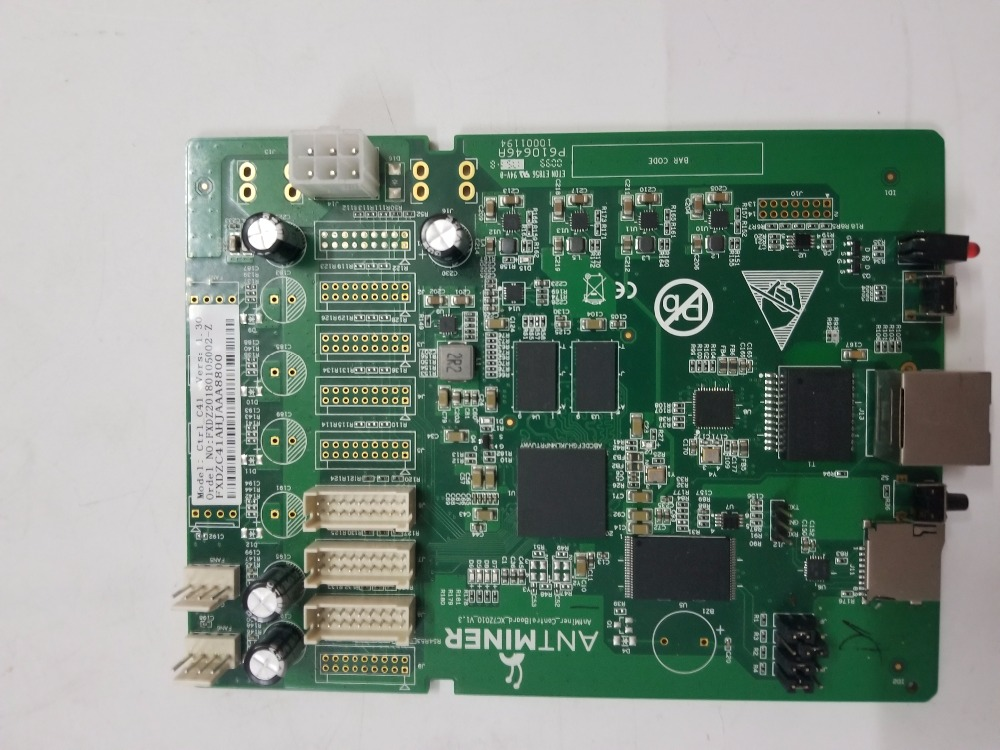 S9 control board,bitcoin miner Parts, antminer S9 Repair parts.For ANTMINER S9 S9i S9j 14.5T 14T 13.5T 13T 12T