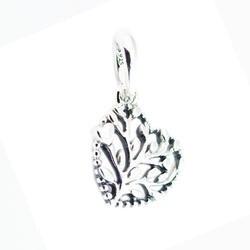 Подходит Pandora Браслеты цветущие Сердца Мотаться Шарм оригинальный бусины 925 пробы серебряные ювелирные изделия DIY решений Бесплатная