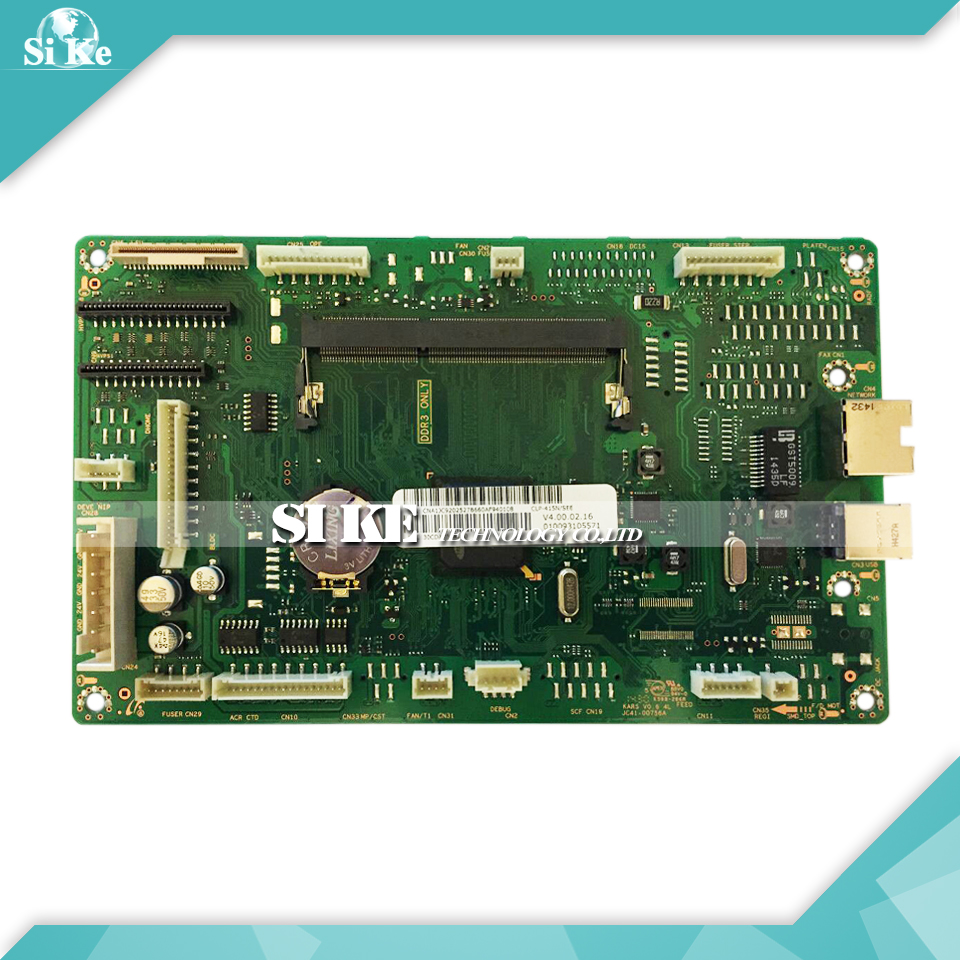 Laser Printer Mainboard Mother Board For Samsung CLP-415N CLP-415 CLP 415 415N 415NW Formatter Board Main Logic Board alzenit for samsung clp 310 clp310 clp 310 original used formatter board laser printer parts on sale