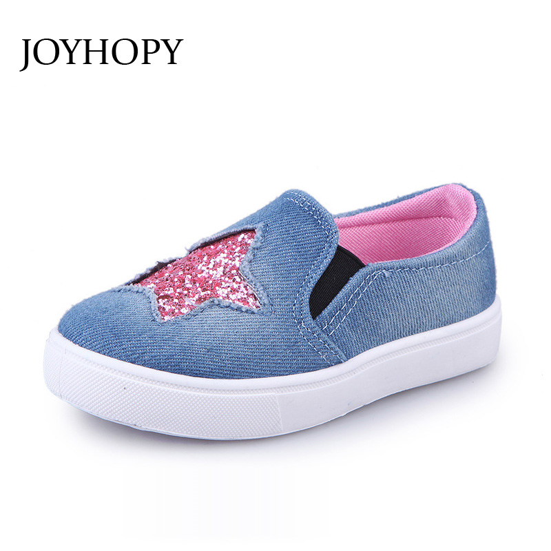 Kids Shoes for Girls Sneakers Jeans Canvas Children Shoes Denim Running Sport Baby Sneakers Girls Shoes