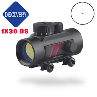 DISCOVERY OPTICS red laser red dot sight scope 1X30 DS for hunting Shockproof Shot rifle sniper airsoft gun outdoor shooting