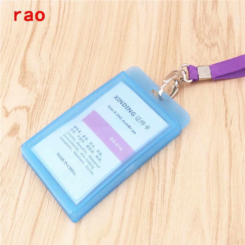 Qualidade de luxo 614 vários conjuntos de cartão id caso distintivo claro banco titular do cartão de crédito acessórios cinto chaveiro clipes