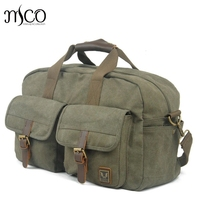 Vintage Military Canvas Duffel Bag Weekend bag Tote Men Large Capacity travel Shoulder Bags Satchel Travel Luggage Overnight Bag