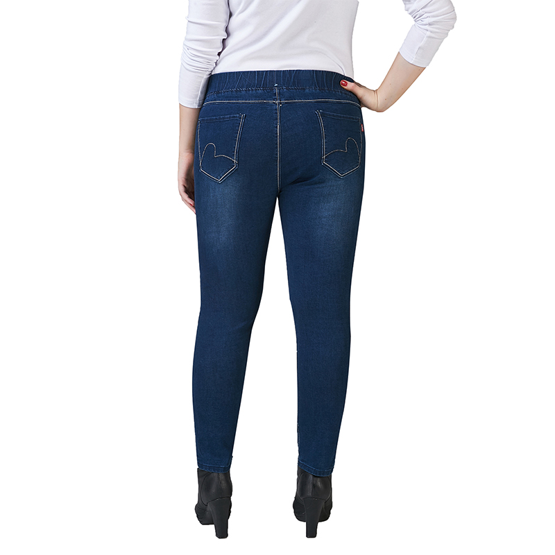 755400deb56 Weweya Skinny Jeans Woman 2017 Slim Elastic Denim Pants Capris Jeggings  Jeans Woman Plus Size Ankle Pencil Pants For Women-in Jeans from Women s  Clothing on ...
