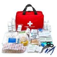 300 шт., наборы для выживания в чрезвычайных ситуациях, медицинские принадлежности, сумка для лечения ран, набор, аптечка для дома, офиса, кемп...