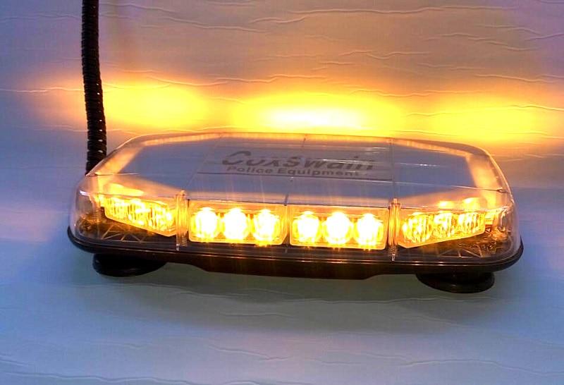 Higher star DC12V 30W Led emergency lightbar strobe warning lights for police,ambulance, fire,18flash,waterproof