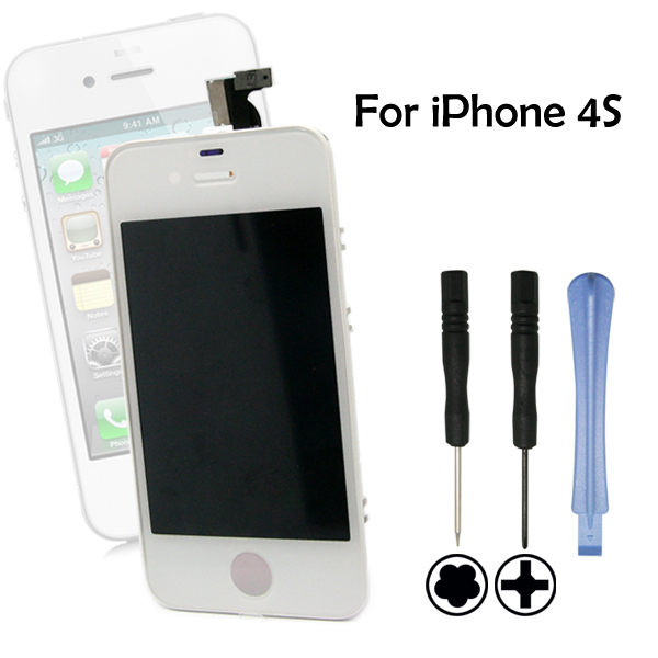 Replacement For iPhone 4s GSM Touch Screen LCD Digitizer Assembly  white