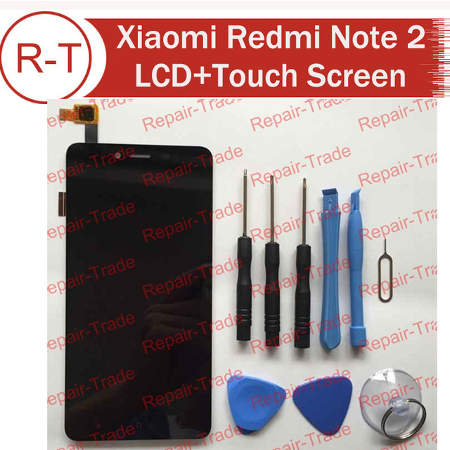 LCD Screen For Xiaomi Redmi Note 2  FHD 5.5inch lcd display+touch Screen Panel Replacement For Xiaomi hongmi note2 Prime