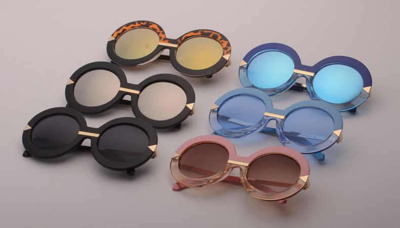 f4de6e70de ... Oversized Big Round Frame Sunglasses Women Luxury Sunglasses Brand  Designer Circle Vintage Retro Sun Glasses Female