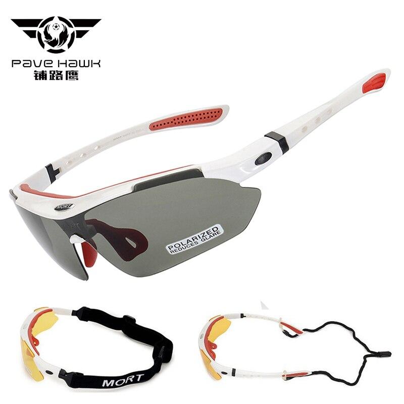 Nouvelle qualité Multi 5 couleur lentille hommes femmes lunettes de soleil Protection Polaroid vtt lunettes lunette de sport lunettes de soleil UV400