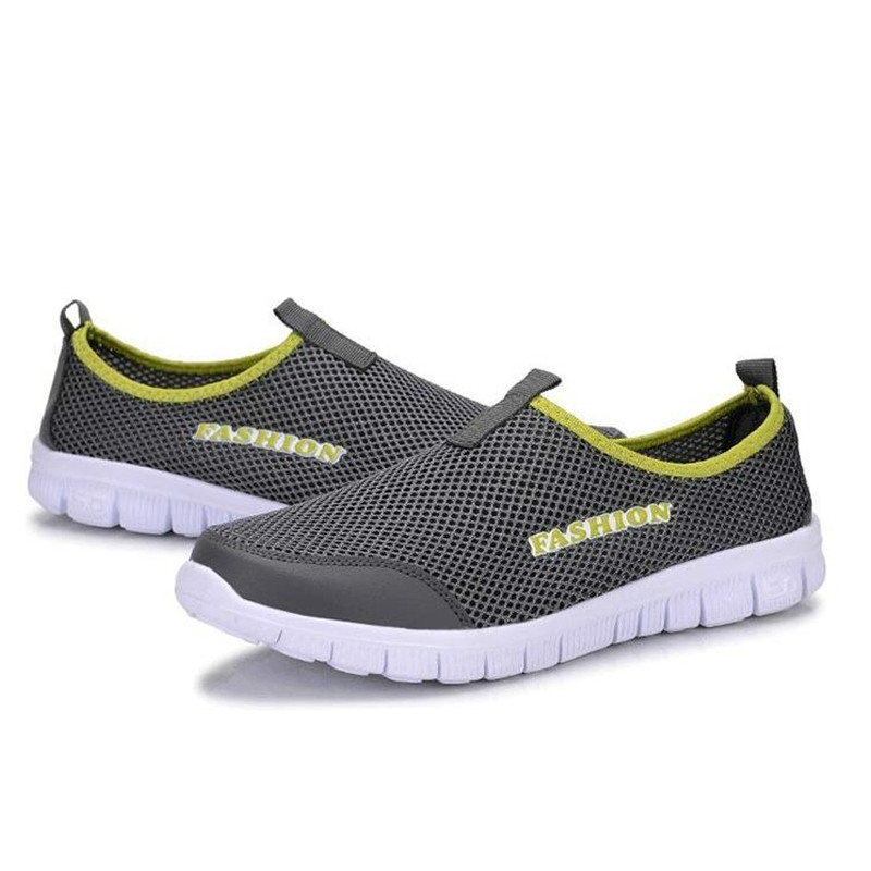 Men's Summer Shoes Plus Size 35-46 Comfortable Men Casual Shoes Mesh Breathable Loafers Slip-on Footwear A01m #6
