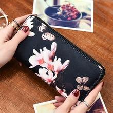 Hot Sales Fashion Envelope Women's Flower Print Wallet