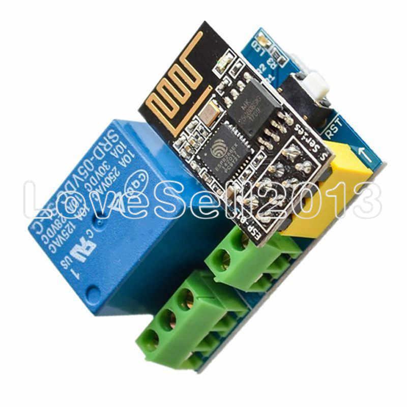 ESP8266 ESP-01S ESP01S 5 V WiFi Module relais ESP-01 Module relais choses Smart Home télécommande commutateur téléphone APP