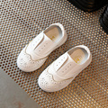 kids moccasin shoes 2017 Spring 100% genuine leather male and female wild white children leather shoes leather shoes kids
