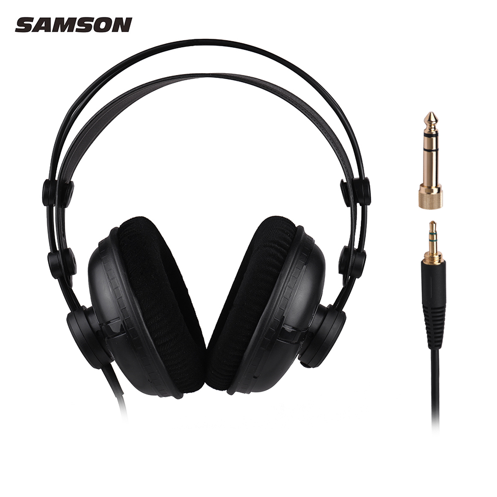 SAMSON SR950 Professional Studio Reference Monitor Headphones Dynamic Headset Closed Ear Design-in Electric Instrument Parts & Accessories from Sports & Entertainment    3