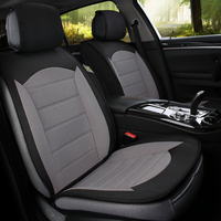 Universal flax fiber car seat cover auto seats covers for volvo s40 s60 s80 v40 v50 v60 v70 v90 xc60 xc70 tesla model 3 model s