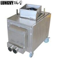 Free Shipping 2018 6000W Handle Control Dry Ice Fog Machine Low Ground Fog Machine Stage Smoke Machine