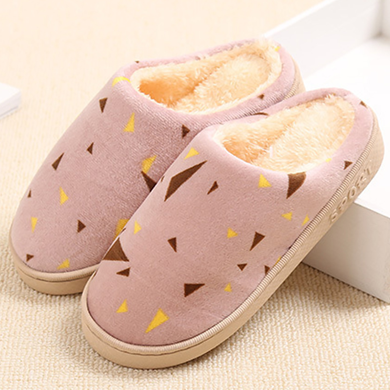 Winter slippers 2018 fashion flat slippers for women mixed colors plush warm ladies shoes soft non-slip female shoes women slippers summer bling beach shoes sequined rivet fashion slippers female light flat platform non slip ladies shoes ald931