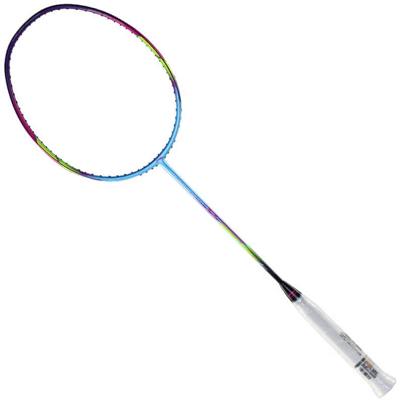 2019 Genuine New Li Ning Badminton Racket Windstorm 72 Super Light High Pound Badminton Racquet With Gift